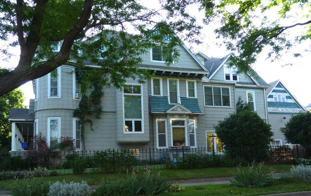 An older home in the Logan Park neighborhood