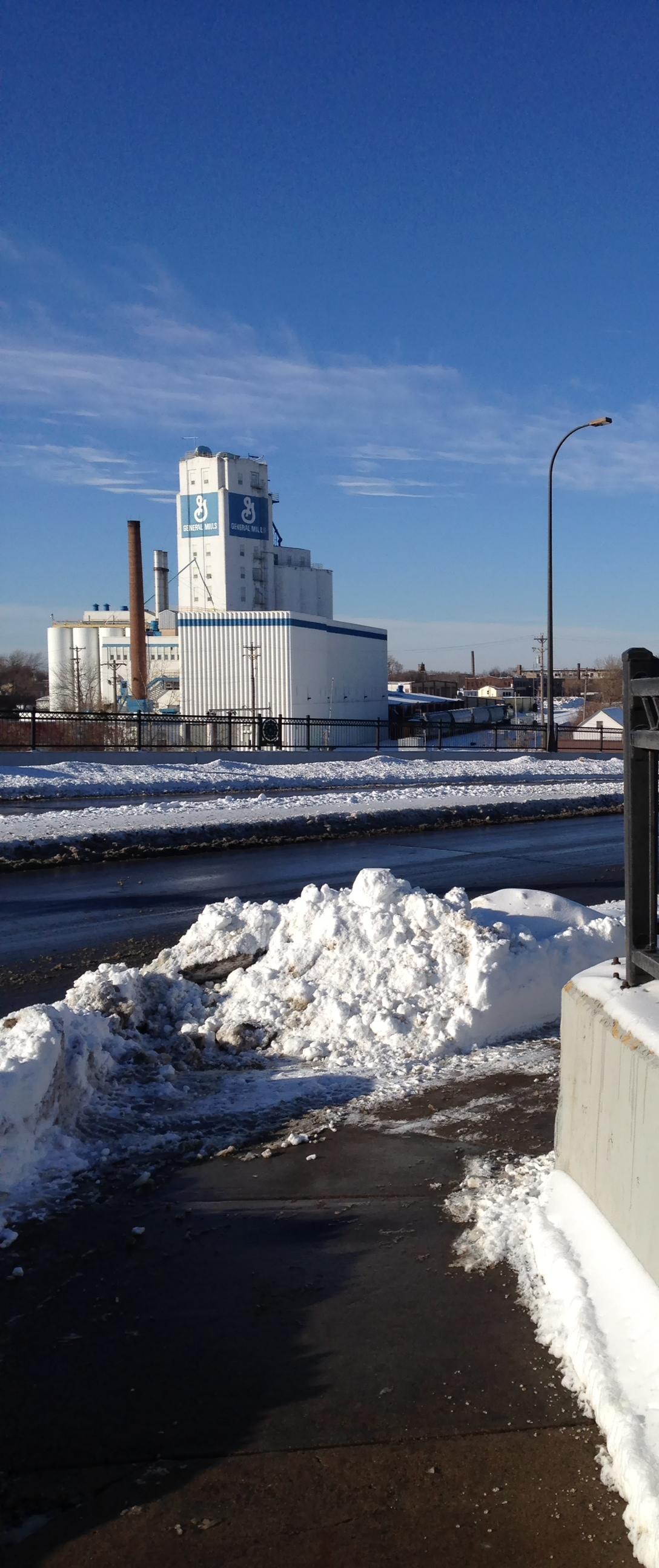 General Mills silo