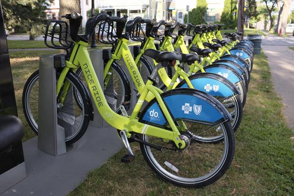 Nice Ride Bikes Come To Logan Park Logan Park Neighborhood
