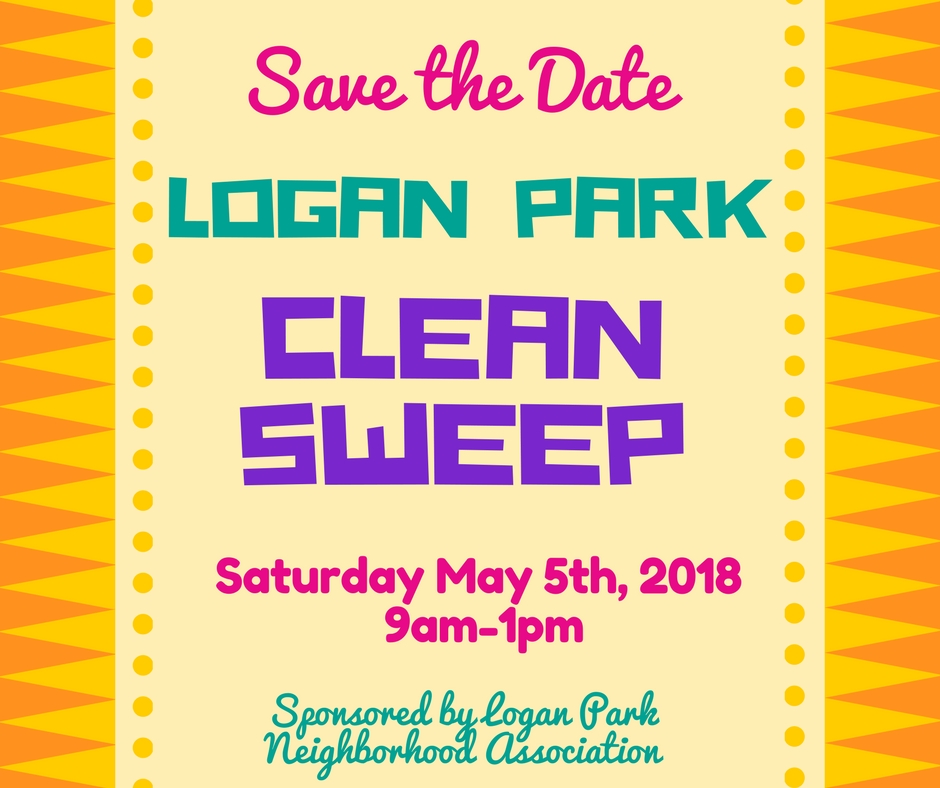 Clean Sweep May 5th 2018 9am-1pm