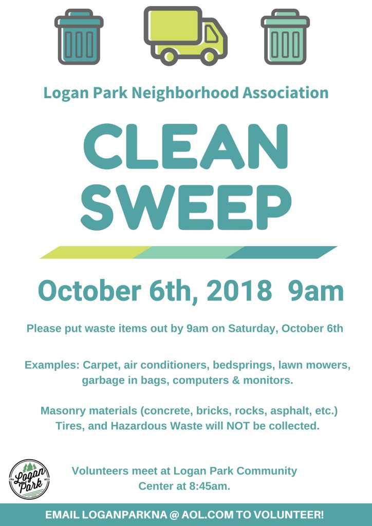 Clean Sweep October 6th, 2018 Poster