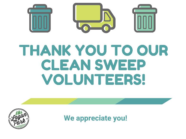 Thank you Clean Sweep Volunteers!